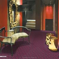 Fashion Prink Nylon Printed Wall to Wall Carpet Banquet Hall Flooring Carpets Personalized Floor Carpet