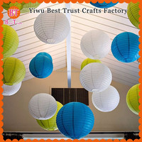 Large 24inch 60cm White Chinese Paper Lampion Lantern For Event Decorations 500pcs