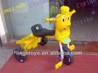 Baby plastic material toy tricycle, pinghu toys ride on car, Hot saling!latest hot cheap item!!!zhejiang toys ping hu newest