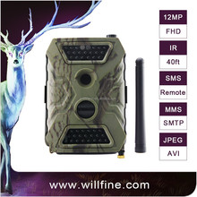 No glow night vision 940NM hunting camera 12MP 1080P support SMTP GPRS MMS for security hunting