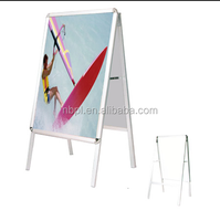 Aluminum snap frame stand,poster,photo,picture display stands,a frame sign
