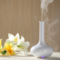 2014 pure white lavender oil painting aroma vaporizer/arts and craft
