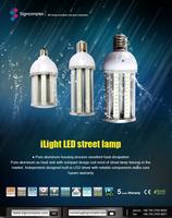 High brightness 150lm/w TUV UL listed 45w E26 E39 led corn light
