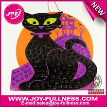 cat halloween mosaic foam kit