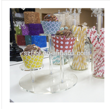 2015 wholesale acrylic cake stand acrylic cake stands with lights acrylic stand