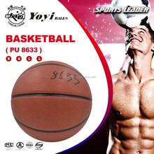 hot sale 8633 PU basketball,same as original spalding basketball material