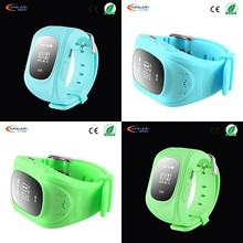 Fashion Type real time tracker gps running watch with Remote Voice Monitoring Function