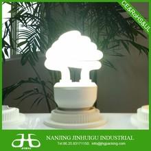Tri-phosphor e27 CFL mushroom lights 15w daylight
