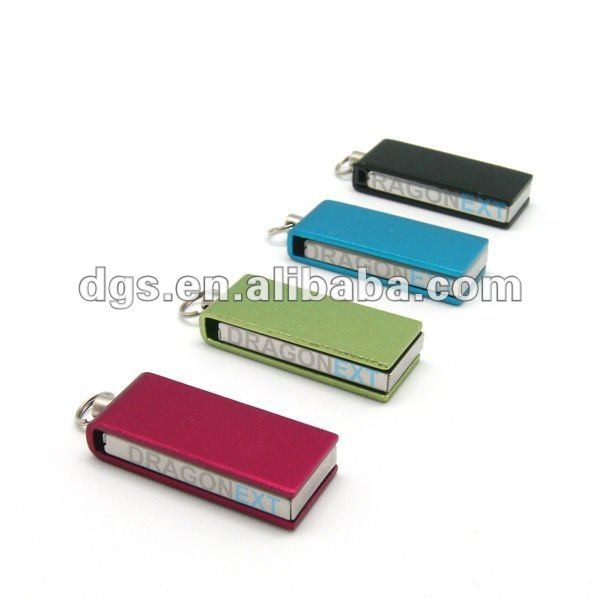 Wholesale Hi-Speed Swivel Usb 2.0 Micro Pen Drive 8Gb Portable Mini Size