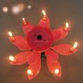 Cumpleaños de interior vela luces de bengala