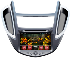 pure android 4.4.2 chevrolet trax car dvd player with dvd bluetooth radio tv gps 3g wifi android! good quality!