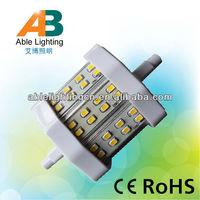 5w 3022-24smd led light 5w 78mm 110v lamp r7s 300lm led bulb