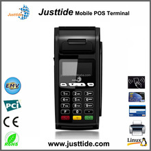 Justtide Factory Price GPRS WiFi Receipt Printer Handheld Mobile POS Manufacturer