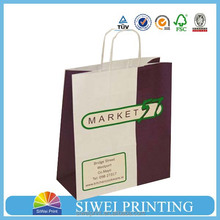 High quality kraft paper coffee bags, kraft paper bags food grade for coffee packaging
