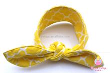 rabbit knot headband baby headband elastic bunny ear headband cotton