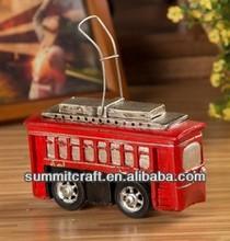 vendita calda resina Christchurch tram miniature antiche in auto