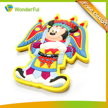 High Quality 3D Customized Hand-Made Travel Souvenir Soft PVC Flexible Rubber Magnet