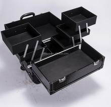 Multi-Purpose Professional Makeup Trolley Cases For Nail Beauty