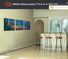seaworld scenery picture ,beautiful wall painting