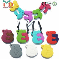 China Manufacturer New Product Food Grade Silicone Baby Teether Toy Wholesale