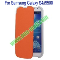 Two Foilo Folding Twill for Samsung Galaxy S4 i9500 Leather Case with Stand