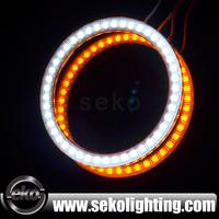 85mm led ring light 3528 smd led angel lights for cars