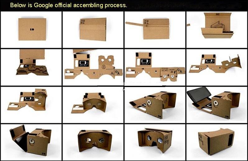 Как сделать cardboard своими руками без линз 11