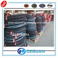 cloth surface and black oil hose of SAE 517 TYPE 100 R12 manufacturer