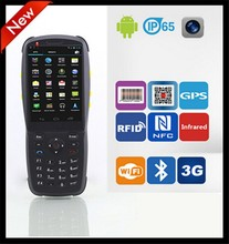 3.5 inch Handheld Barcode Scanner Android PDA with 3G,WiFi,GPS,Bluetooth,NFC,RFID(PDA3501)