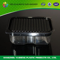 Superior quality biodegradable material plastic container food packaging