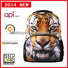 2014 back pack,animal backpack,shoulder backpack