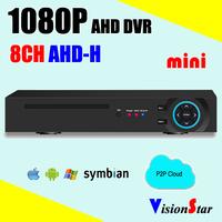 1080P AHD DVR 8ch AHD-H Analog CCTV Video Recorder