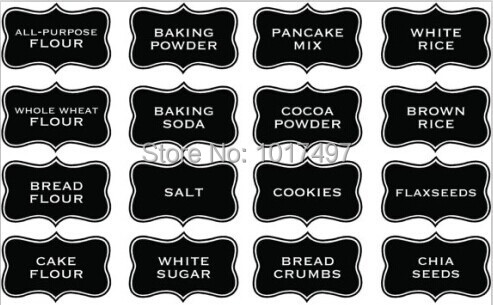 kitchen chalkboard large size 10x6 cm kitchen chalkboard label