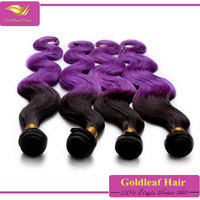 Wholesale Alibaba purple human hair weave best selling new fashion products in Italy