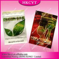 custom printed aluminium foil zipper bag,mojo herbal incense,herbal incense bags