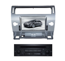 Yessun Factory 7 inch car dvd player for C4 C-QUA-TRE 2008-2010 with Auto DVD GPS & Bluetooth & Navigator & Radio