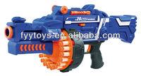 2014 New RAGING FIRE Semi-auto Soft Bullet Blaster Nerf Gun 20 Dart Toy AGE 6+