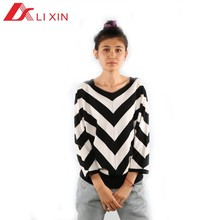 Murciélagos Mujer pullovers moda manga suéteres