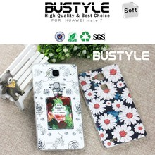Bustyle mobile phone case for huawei mate 7 phone tpu covers