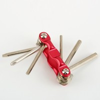 6 in1 Multi-function Bicycle Bike Tool DIY Bike Repair Tool Kit