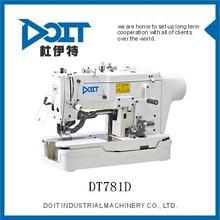 DT781D lockstitch straight button holing sewing machine direct drive juki type