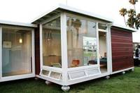 2015 dsign new style mobile 2 room cheap prefab house
