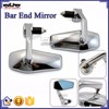 BJ-RM400-05 Motorcycle Body Kits Chrome CNC Billet Aluminum Bar End Motorcycle Rearview Mirror for Harley