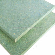 manufacture supply 15mm Green core waterproof MDF board