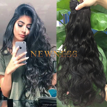 100% Unprocessed Sew In Weave grade 7a eurasian exotic wave hair extensions