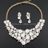 2015 round beads bubble bib resin necklace