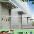 Puerta seccional Industrial / puerta rebalante para Almacén Industrial /puerta doble automática Industrial