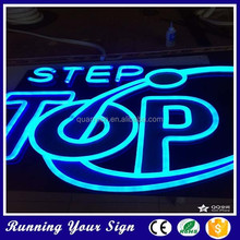 High quality light up LED advertising neon sign