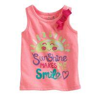 Bulk wholesale designer clothing kids wear sleeveless children's T-shirts