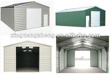 BV standard prefacricated small light steel structure carport garage